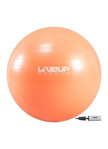 Liveup Liveup LS3222 65Cm AntiBurst Pilates Topu Pompası Oranj